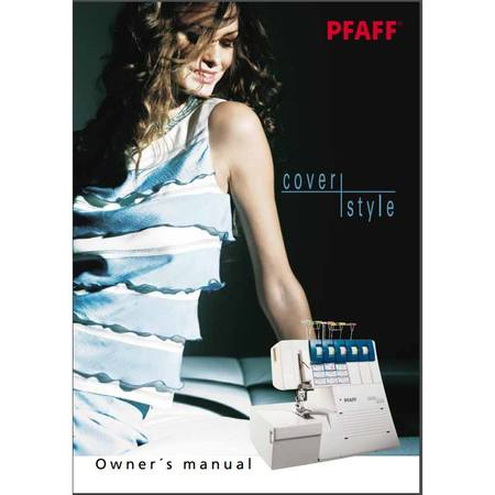 Instruction Manual, Pfaff Cover Style 4850
