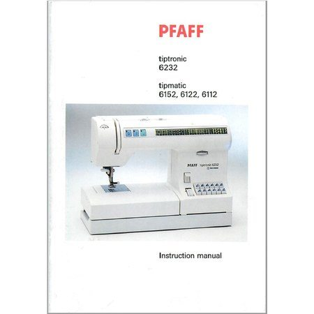 Instruction Manual Pfaff Tipmatic 40 Sewing Parts Online Enchanting Sewing Machine Manuals Online