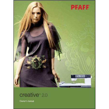 Instruction Manual, Pfaff Creative 2.0