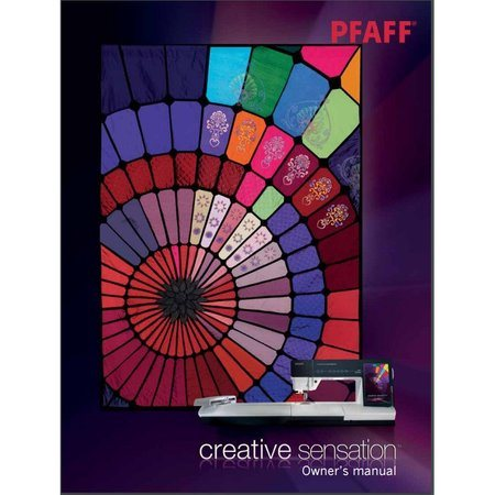 Instruction Manual, Pfaff Creative Sensation