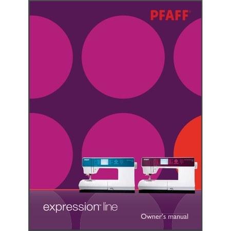 Instruction Manual, Pfaff Expression 3.2