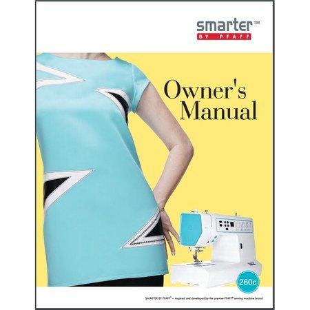 Instruction Manual, Pfaff Smarter 260c