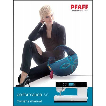 Instruction Manual, Pfaff Performance 5.0