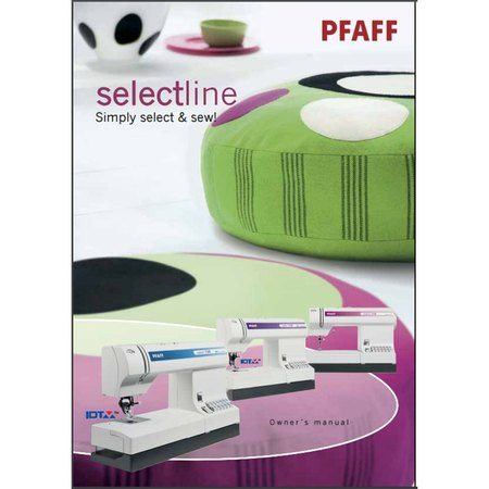 Instruction Manual, Pfaff Select 1538