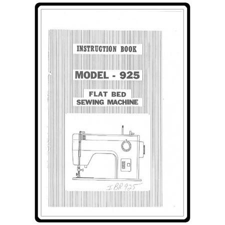 Instruction Manual, Riccar 925