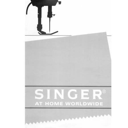 Instruction Manual, Singer 2602