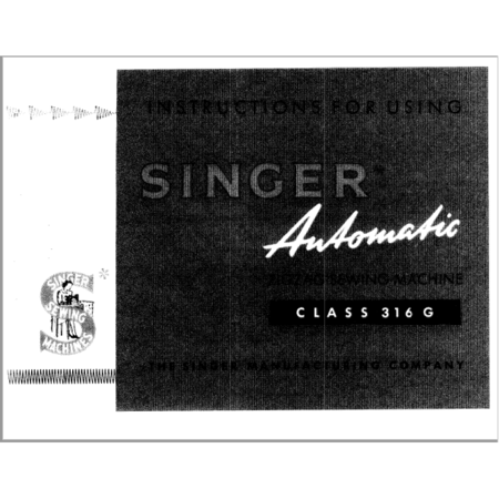 instruction manual singer 316g sewing parts online rh sewingpartsonline com  maquina de coser singer 316g manual