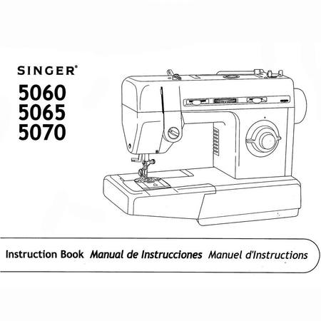 Instruction Manual, Singer 5060