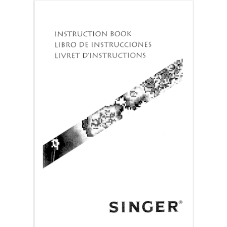 Instruction Manual, Singer 5805