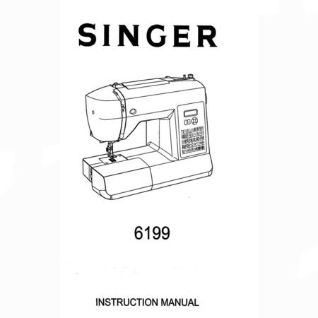 Instruction Manual, Singer 6199