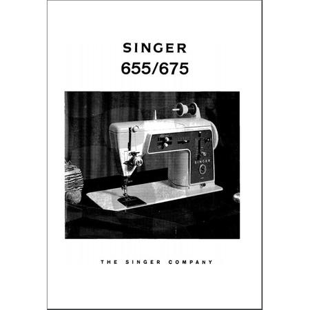 Instruction Manual, Singer 675