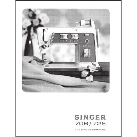 Instruction Manual, Singer 706