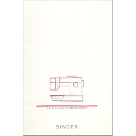 Instruction Manual, Singer 9018