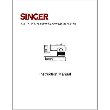 Instruction Manual, Singer 9334