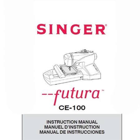 Instruction Manual, Singer CE100