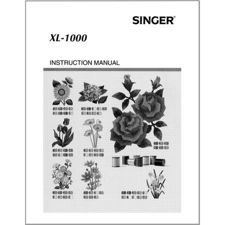 Instruction Manual, Singer Quantum XL-1000