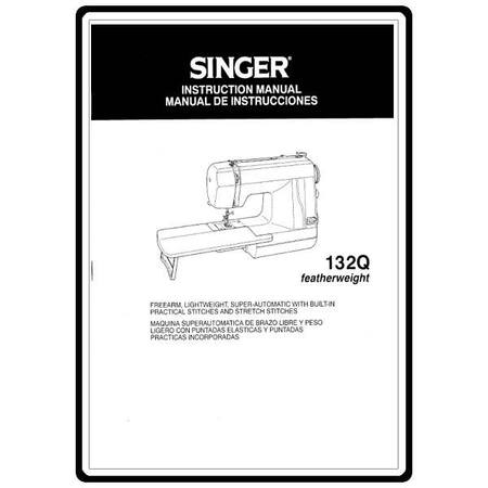 Instruction Manual, Singer 132Q Featherweight