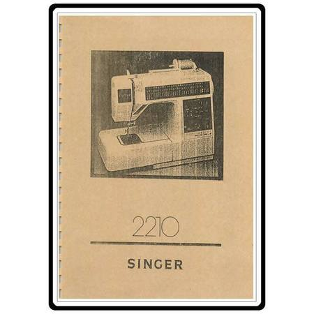 Instruction Manual, Singer 2210