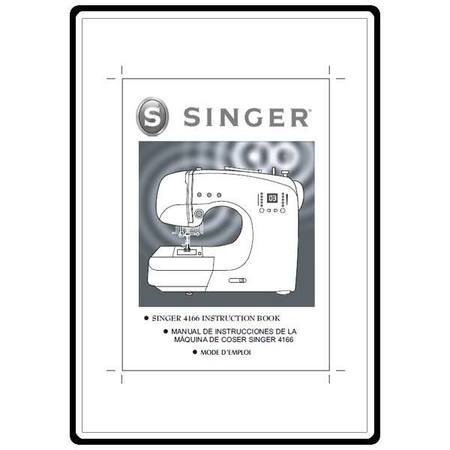 Instruction Manual, Singer 4166