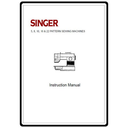 Instruction Manual, Singer 4552
