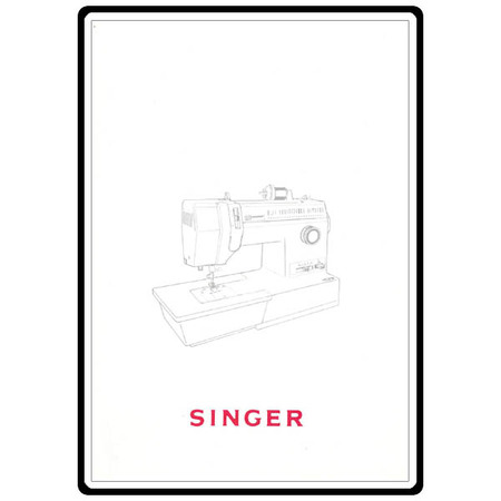 Instruction Manual, Singer 4572