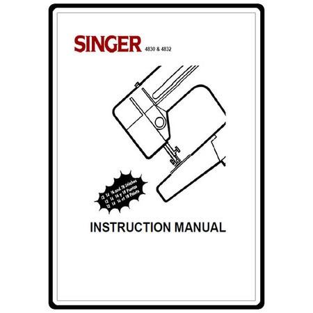 Instruction Manual, Singer 4814