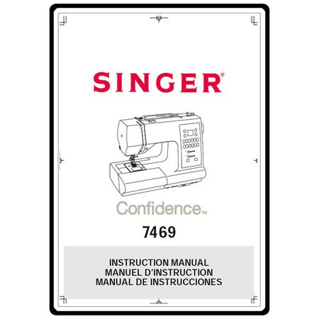 Instruction Manual Singer  Confidence  Sewing Parts Online