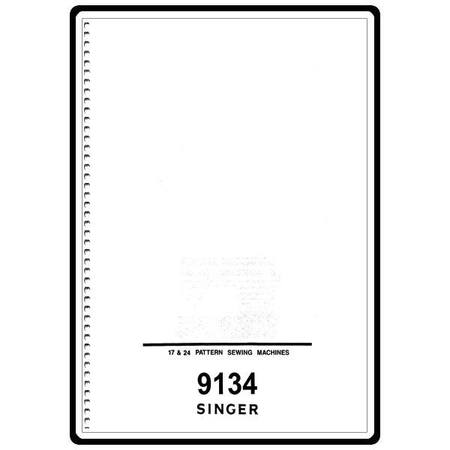 Instruction Manual, Singer 9134