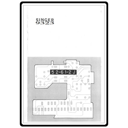 Instruction Manual, Singer 9323