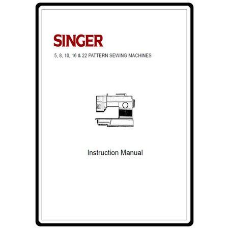 Instruction Manual, Singer 7029