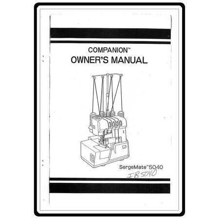 Instruction Manual, Simplicity SL200