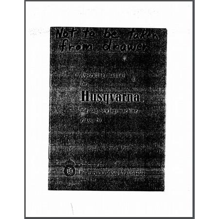 Instruction Manual, Viking 20