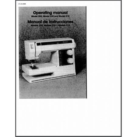 Instruction Manual, Viking 210