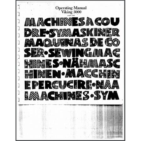 Instruction Manual, Viking 3260