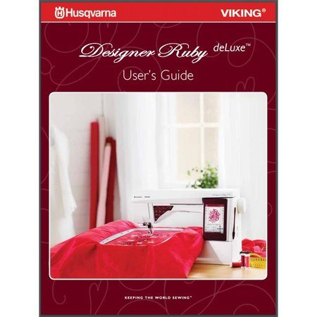 Instruction Manual, Viking Designer Ruby Deluxe