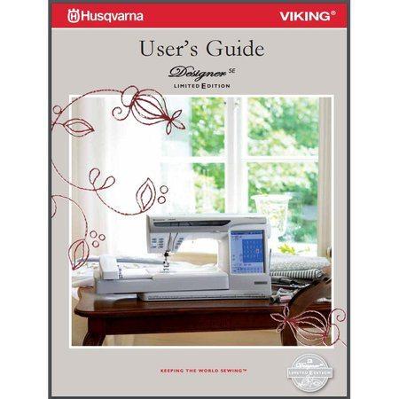 Husqvarna viking designer se sewing machine service parts manual.