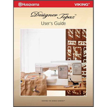 Instruction Manual, Viking Designer Topaz