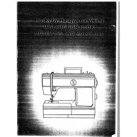 Instruction Manual, Viking Husky 145