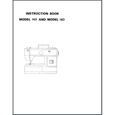 Instruction Manual, Viking Husky 160