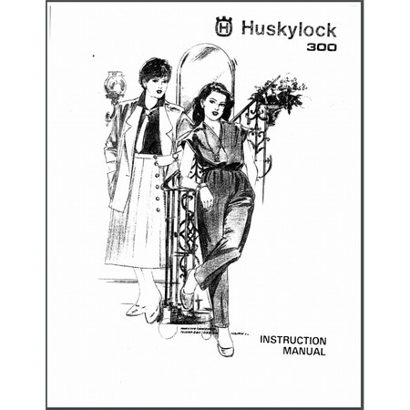 Instruction Manual, Viking Huskylock 300