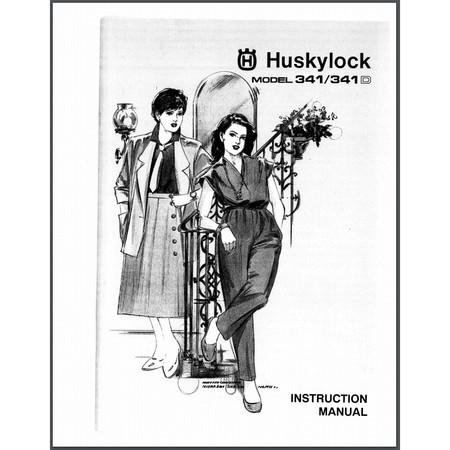 Instruction Manual, Viking Huskylock 341D
