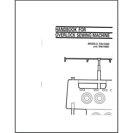 Instruction Manual, Viking Huskylock 530D