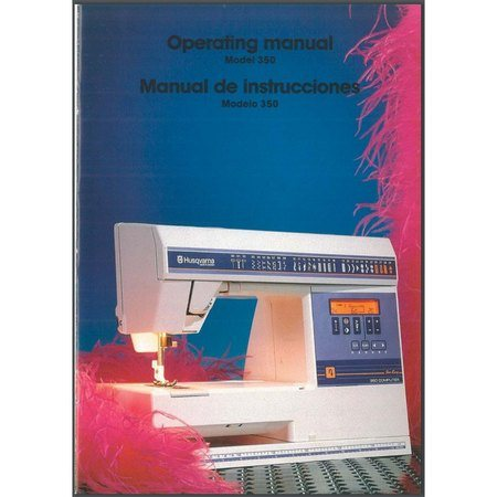 Instruction Manual, Husqvarna Viking 350