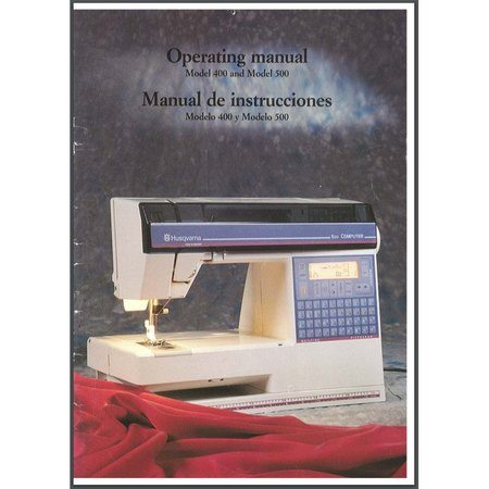 husqvarna user manual sewing machines