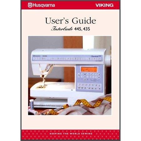 Instruction Manual, Viking Interlude 445