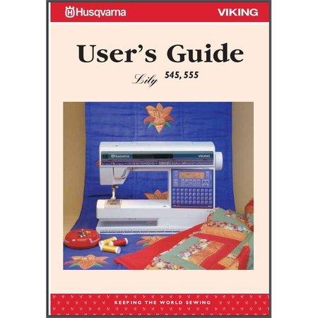 Instruction Manual, Viking Lily 545