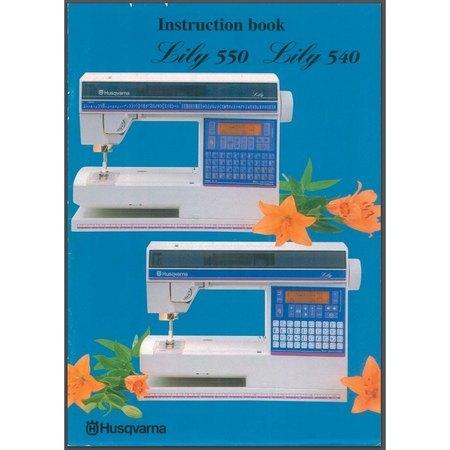 Instruction Manual, Viking Lily 550
