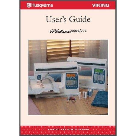 Instruction Manual, Viking Platinum 775