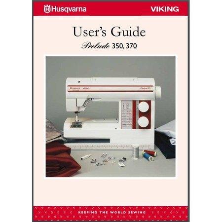 Instruction Manual, Viking Prelude 370