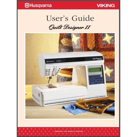 Instruction Manual, Viking Quilt Designer II